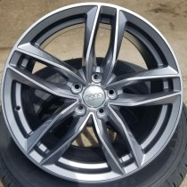 "AUDI REPLICA (VW, MERCEDES)  SIZE: 18""x8.0 BOLT PATTERN: 5X112 OFFSET: +35 BORE: 66.6"